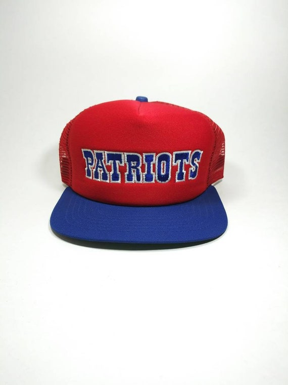 Vintage 80's New England Patriots New Era Snapback