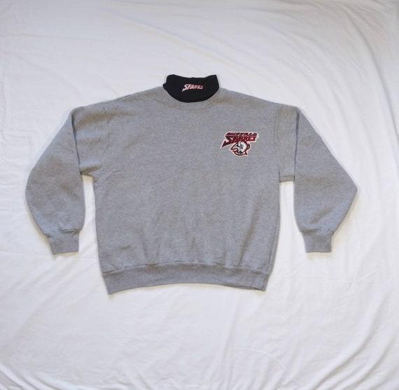 Vintage 90's Buffalo Sabres Turtle Neck Sweatshirt