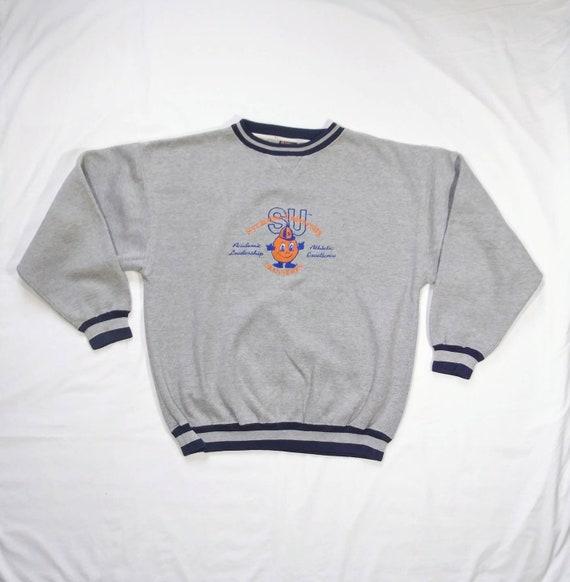 Vintage 90's Syracuse University Orangemen Sweatsh