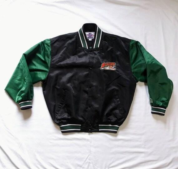 Vintage 90's Buffalo Bisons Starter Satin Jacket