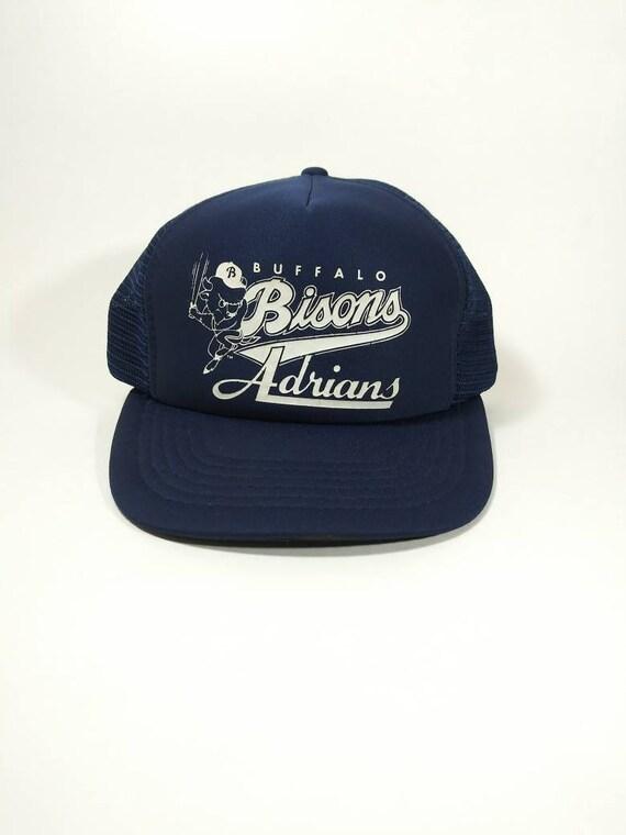 Vintage 80's Buffalo Bisons Snapback Hat