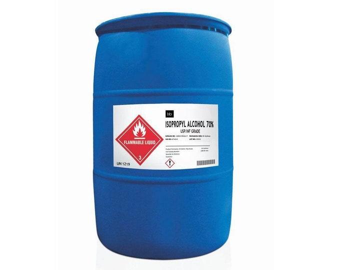 70% Isopropyl Alcohol (Rubbing Alcohol) 55 Gal Drum