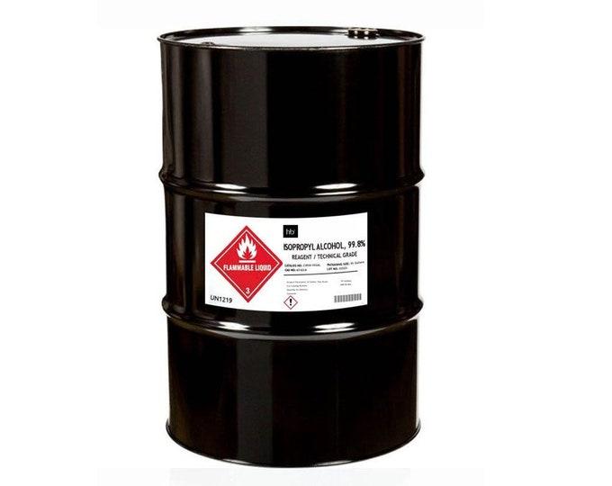 99% Isopropyl Alcohol (Laboratory Grade) 55 Gal Drum