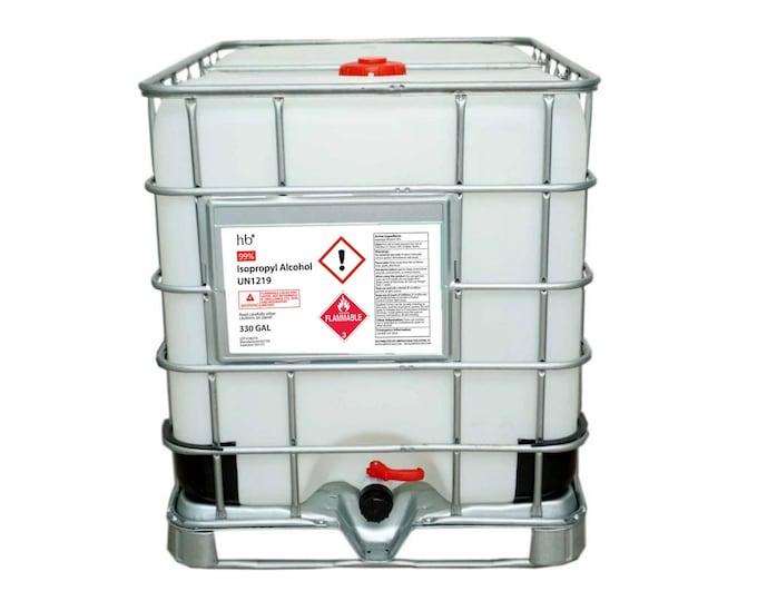 99% Isopropyl Alcohol (Laboratory Grade) 330 Gal Tote