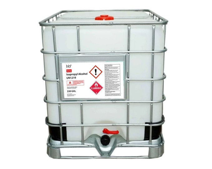91% Isopropyl Alcohol (Laboratory Grade) 330 Gal Tote