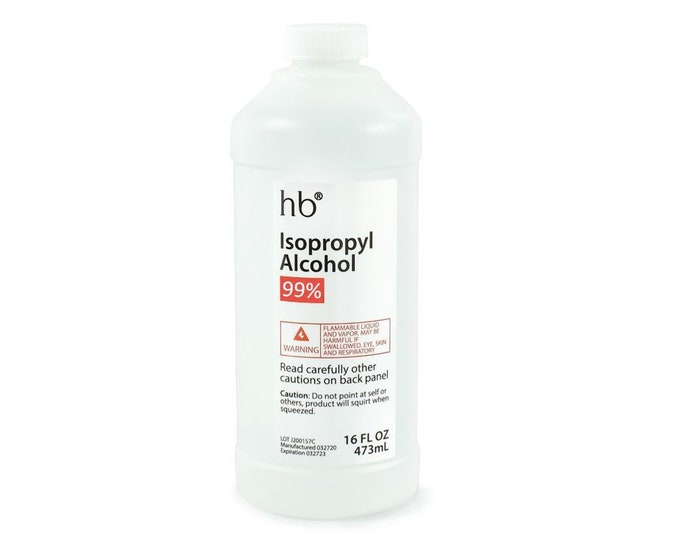 99% Isopropyl Alcohol (Laboratory Grade) 16 FL OZ