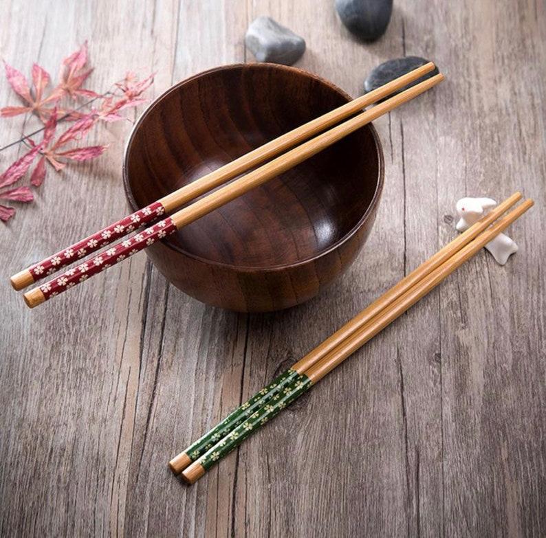 Colored Bamboo Chopsticks