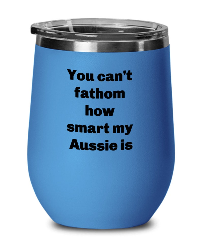 Smart aussie wine tumbler spill proof for aussie lover insulated wine tumbler four colors