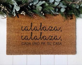 Calabaza Doormat