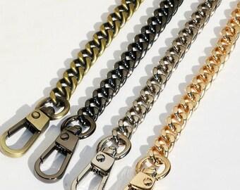 Chain Strap Shoulder Strap Metal Replacement Shoulder Strap for Women Bag Handbags