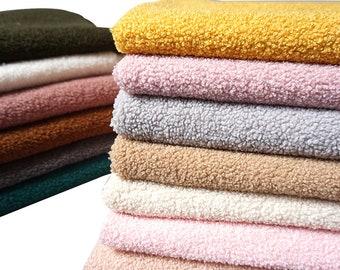 Teddy Plush Fabric, Sherpa Fabric, Fleece Fabric, Cashmere Fabric,By The Half Yard