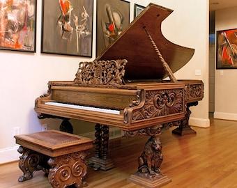 Antique 1927 Bösendorfer 9'4'' Concert Grand