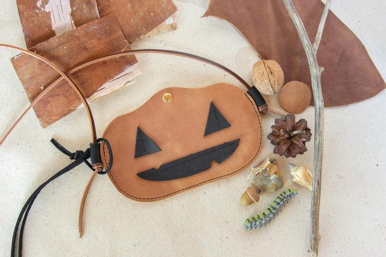 Halloween Favor Bag / Toddler Halloween Purse / Halloween image 0