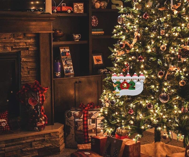 2020 Christmas Ornament  Covid  Quarantine  Survivor Family image 8