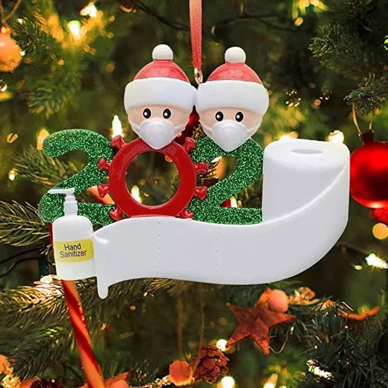 2020 Christmas Ornament  Covid  Quarantine  Survivor Family image 7