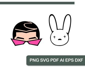 Printable Bunny Pdf Etsy