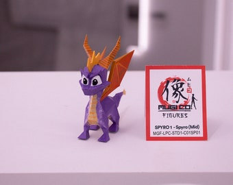 SPYRO I 01 Spyro figure (Mid size) [Spyro The Dragon] (1998)
