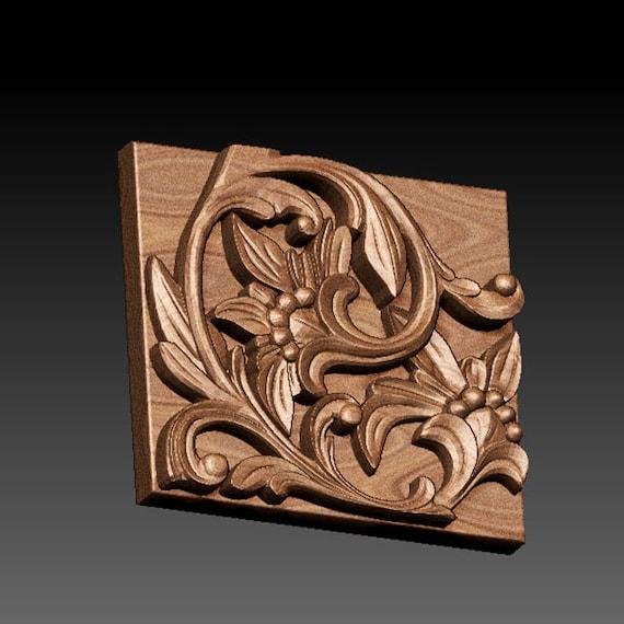 26 PCS STL 3D Models FRAME FLOWER PATTERN for CNC Router Artcam Engraver Carving