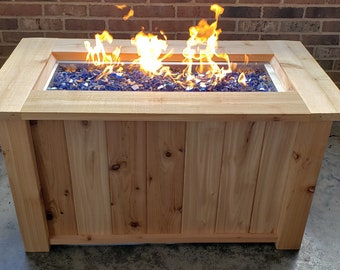 Natural Gas Fire Pit Etsy
