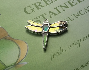 Little Dragonfly Stained Glass Suncatcher