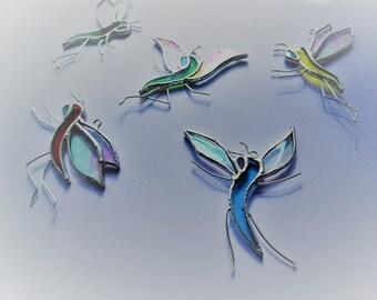 Magical Sprites, Elves, Fairies, Pixies, Stained Glass Suncatcher ~ brand new design