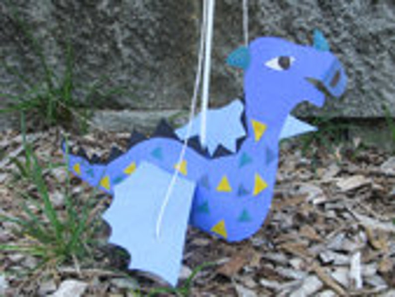 Reluctant Dragon Rod & String Puppet  Center for Puppetry image 0