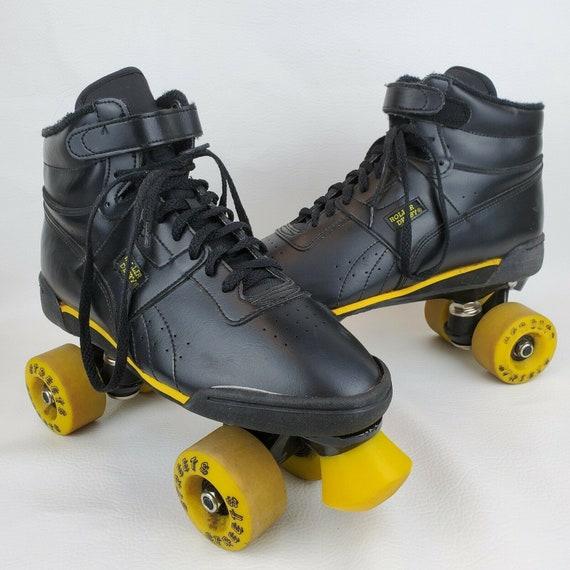 Vintage Streets Roller Derby Black Roller Skates M