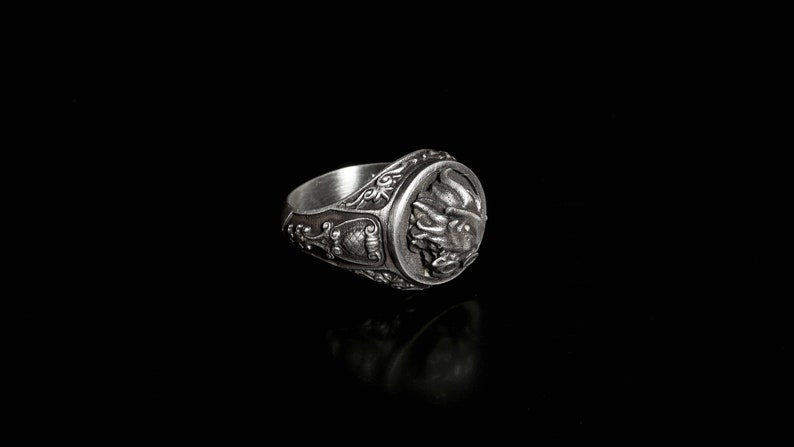 League Themed Jewellery Heimerdinger Silver Ring Heimer Ring Gamers Accessories League of Legends Accessories Heimerdinger Jewellery