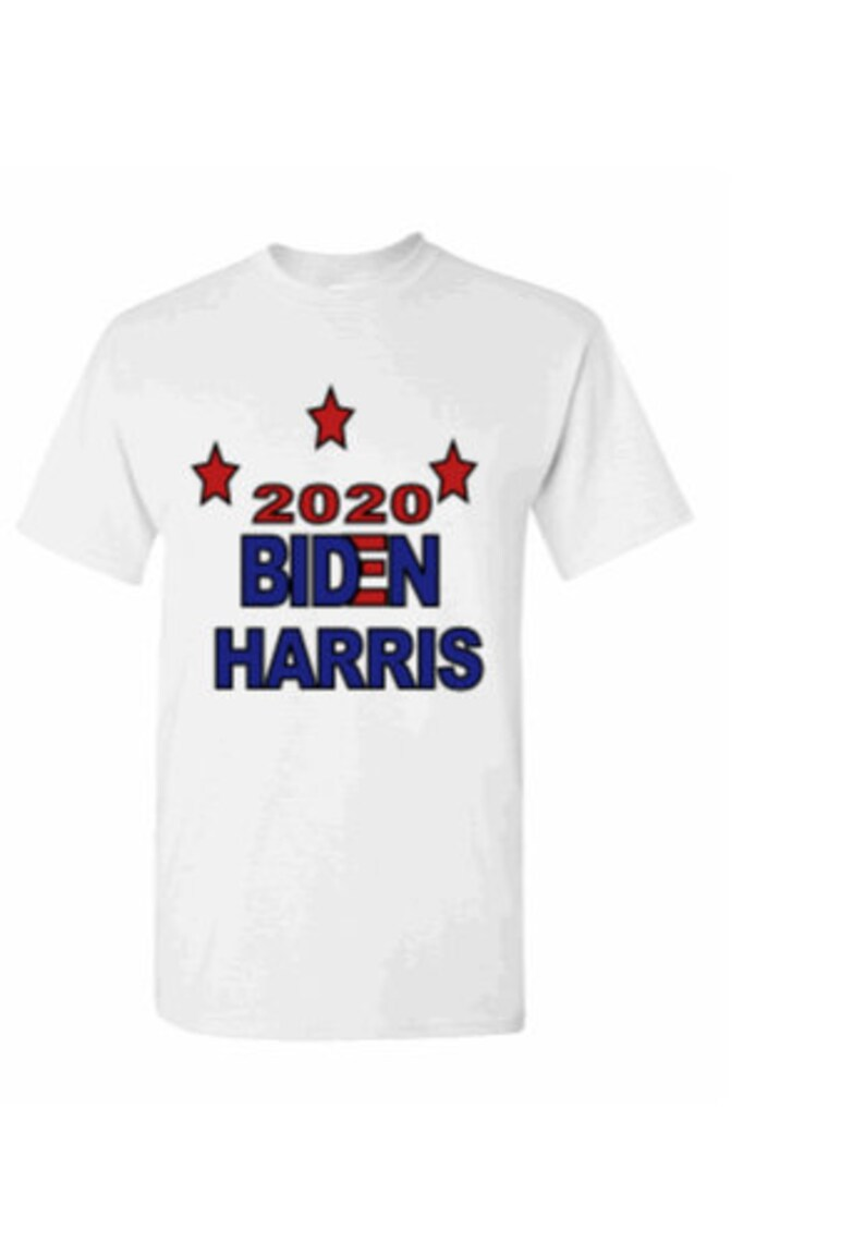 Biden Harris T Shirt Political T-Shirt Unisex Election T-Shirt Biden T-shirt 2020 Democratic Campaign Kamala T-Shirt Novelty T-Shirt