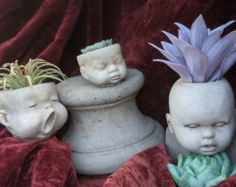 Doll Heads Trio