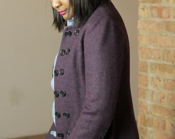 Vintage Purple Wool jacket