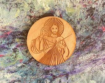 Divine Mercy medal, Jesus I trust in you medal, saint medal, confirmation medal, 1st Holy communion medal, catholic medal, Jesus medal