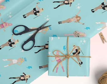 Lady Gaga Wrapping Paper - Christmas Birthday Gift