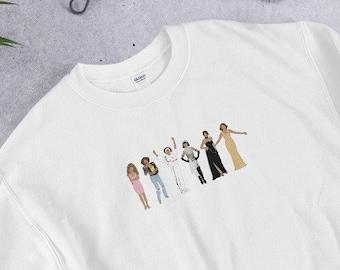 Whitney Houston Eras Unisex Sweatshirt