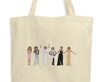 Whitney Houston Eras Eco Tote Bag