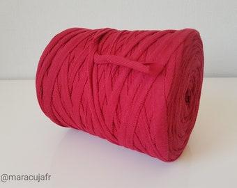 Red Trapilho, Carmin Red Polo cotton trapilho reel