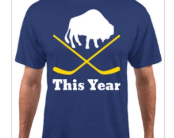 This Year - Buffalo hockey t-shirt
