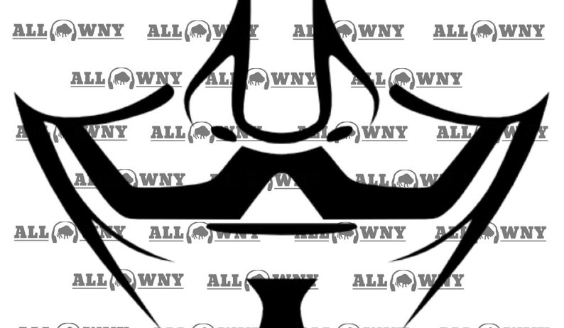 Guy Fawkes facemask SVG image 0
