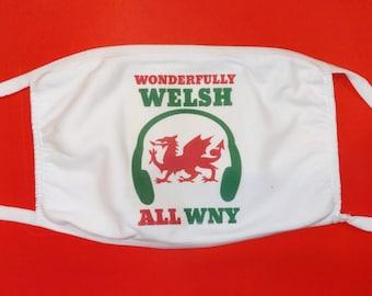 Wonderfully Welsh All WNY cotton mask