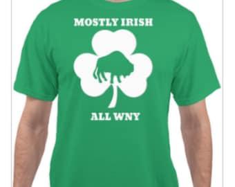 All WNY Irish shirt