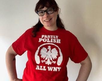 All WNY Polish shirt