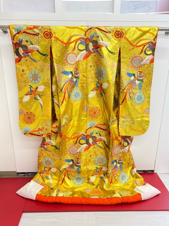 Uchikake,Kimono,Japanese kimono Robe,Wedding Robe,