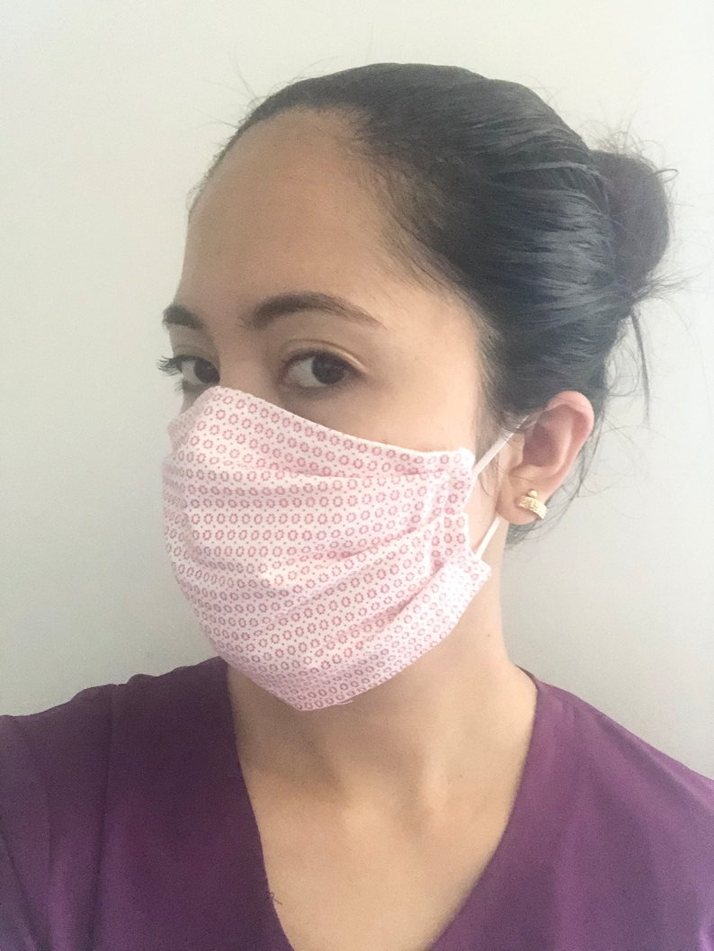 Cotton Face Mask /Cloth Mask / Reusable Mask Canada / Cotton image 0