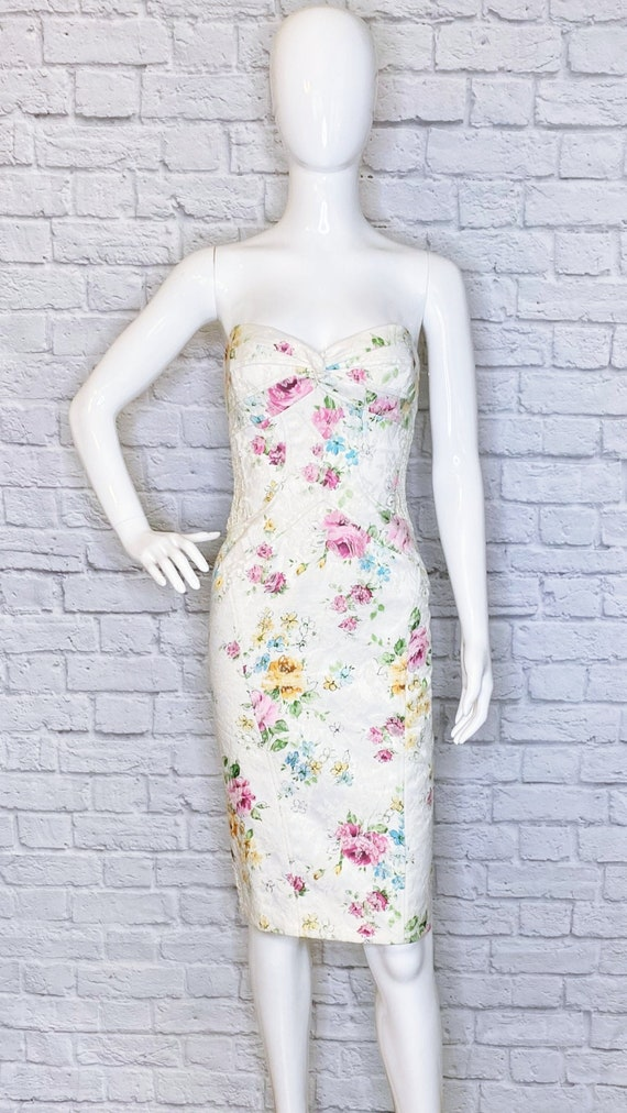 DAVID MEISTER Vintage Authentic Designer Floral La