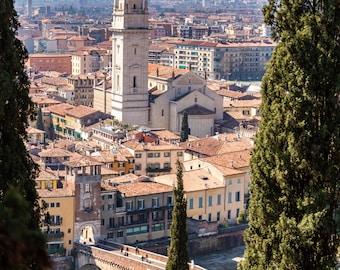 Verona, Italy Photography - Fair Verona - Architecture, Fine Art Photograph, Verona, Venato, Romeo Juliette, Home Decor, Large Wall Art