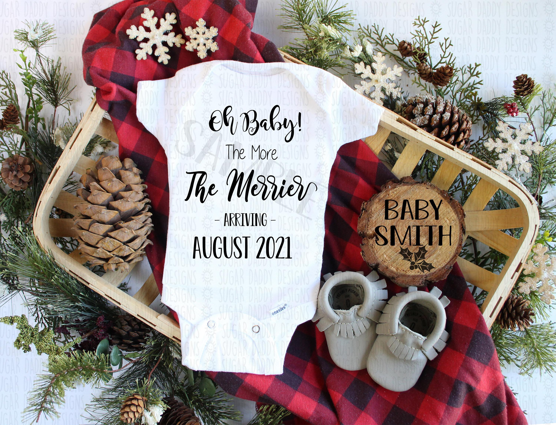 CUSTOM Christmas Pregnancy Announcement Digital Photo for social media Instagram| Facebook