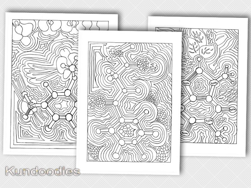 Printable Science Adult Coloring Pages Chemistry Coloring Etsy