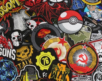 Custom made patch / Sew-on, Hook and loop, Iron-on patch / Made to order embroidery / Embroidered Gift patch / Custom embroidery patches