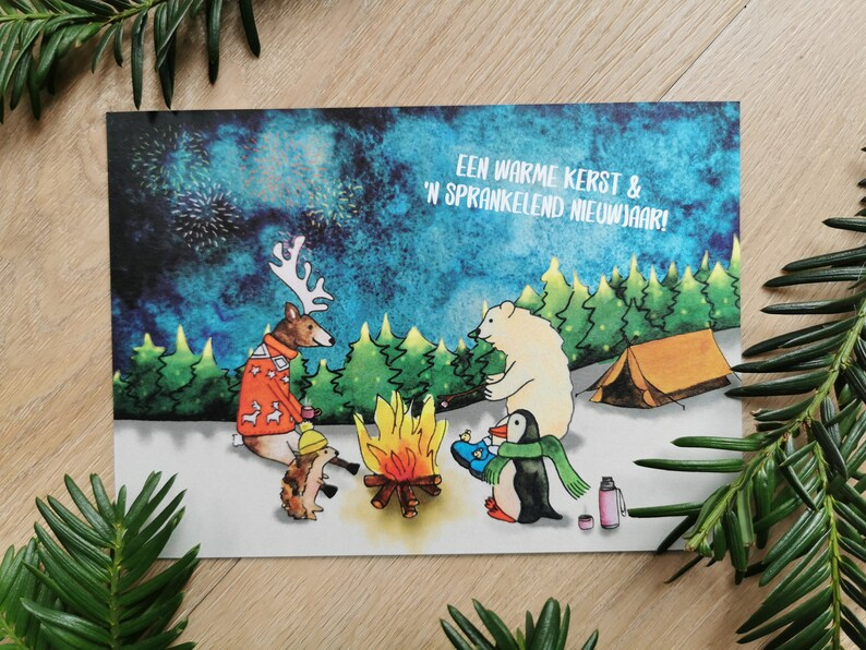 Christmas campfire ticket image 0