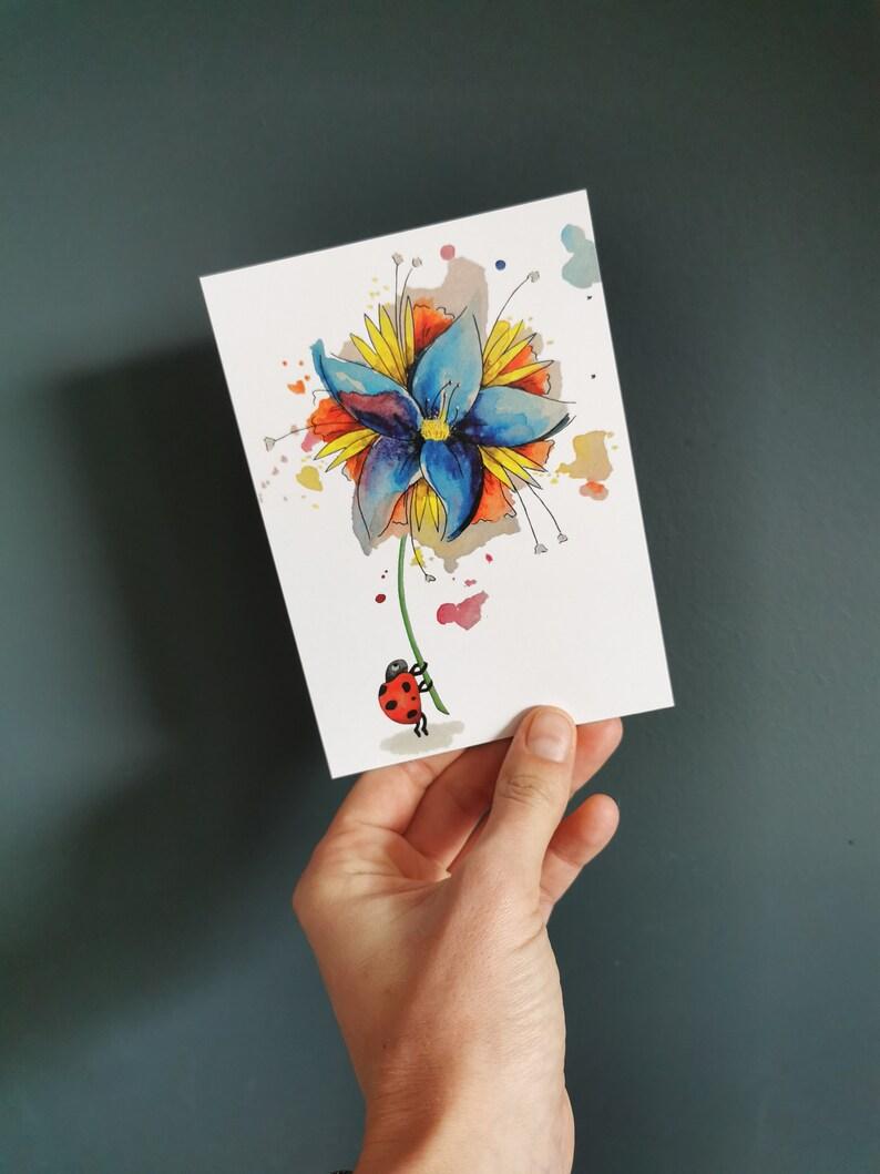 Card ladybug image 0